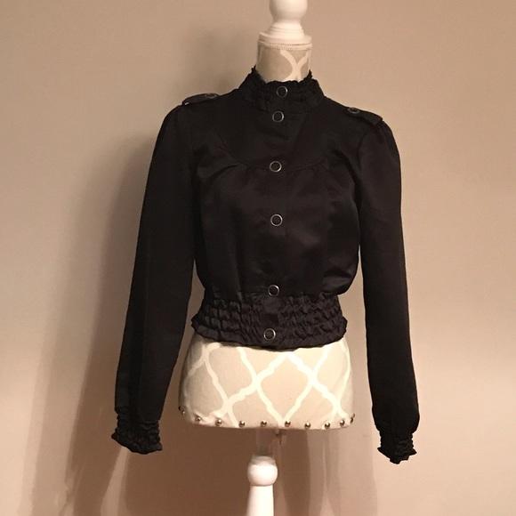 🇨🇦✨2/$20✨Streetwear Society Black Jacket